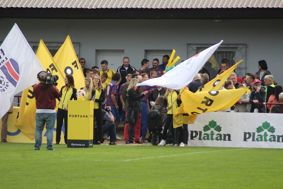 Z fotbalového utkání I.B třídy Loučeň - Pátek (4:0)