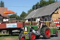 Traktoriáda a výstava historických traktorů v Košíku
