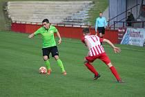 Z divizního fotbalového utkání Kutná Hora - Ostrá (3:2)