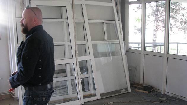 Policejní ředitelství v Nymburce prochází rekonstrukcí