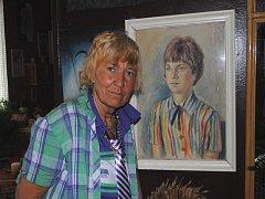 Básnířka Eva Hrubá