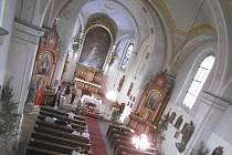 Kostel svaté Markéty v Městci Králové.