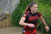 MARTINA ŠUKOVÁ při náročném závodu.