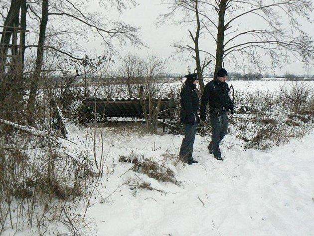 U Odřepes byl v neděli nalezen oběšený muž