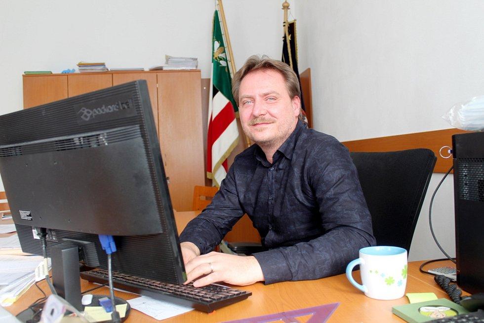 Starosta Pátku Jiří Bulušek.