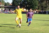 Z fotbalového utkání okresního přeboru Loučeň - Běrunice (5:1)