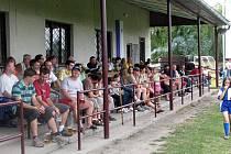 Na oslavu 80. výročí vzniku přišlo do Bobnic řada fanoušků.