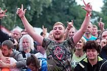 Barvy léta opět přilákaly na tisíce fanoušků převážně rockové hudby.