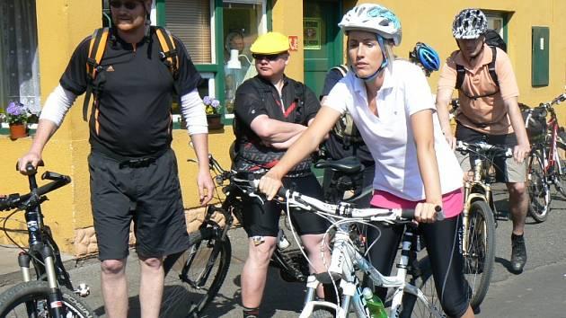 Start Cyklootvíráku v loňském roce v pivovaru