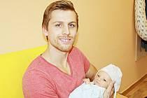 NEO SEBASTIAN JE DOMA VE STARÉ BOLESLAVI. Neo Sebastian Vančura se narodil 19. listopadu 2014 v 15.58 hodin. Vážil 3 370 g a měřil 52 cm. Je prvním miminkem Miroslavy a Matěje ze Staré Boleslavi.