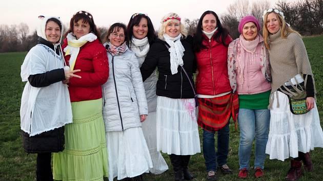 Staroslovanský obřad jarní rovnodennosti se uskutečnil na libickém hradisku.
