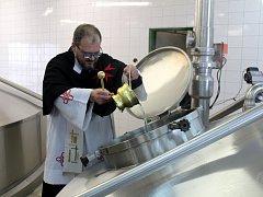 V nymburském pivovaru si připomněli 120 let od uvaření první várky piva.