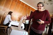 Volby v Libici nad Cidlinou.