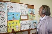 Výstava Šťastné stáří očima dětí
