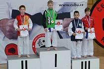 Luděk Melich ze Sadské vyhrál v kategorii 7 - 9 let