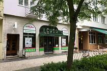 Historická lékárna u lázeňské kolonády.
