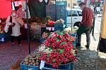 Food festival částečně připomínající farmářský trh se konal v sobotu na nymburském náměstí