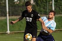 Z divizního fotbalového utkání Poříčany - Čáslav (2:0)