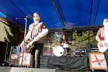 Festival Rock & Pop rozbil stan na dva dny v Parku Pod Hradbami.