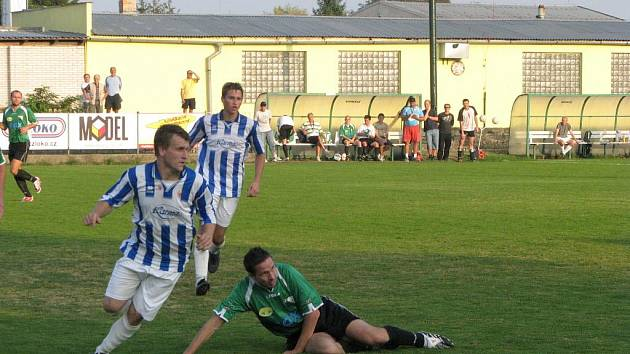 Z utkání Polaban B - Sadská 3:0.