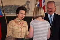 Studentii přebírali ceny Edie od princezny Anny
