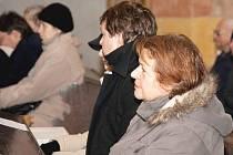 Rybova Česká mše vánoční zněla nymburským kostelem sv. Jiljí.