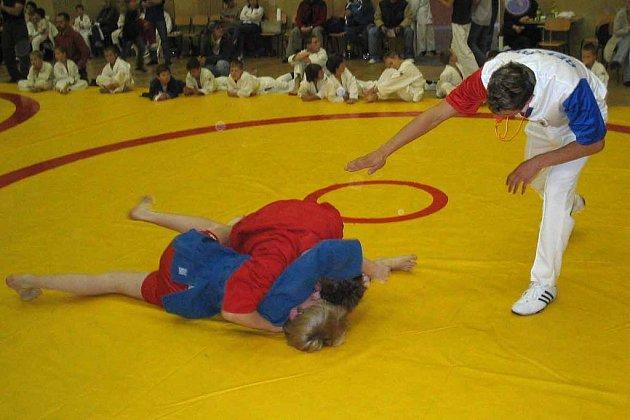 V Poděbradech se konal republikový šampionát mládeže v bojovém sambo