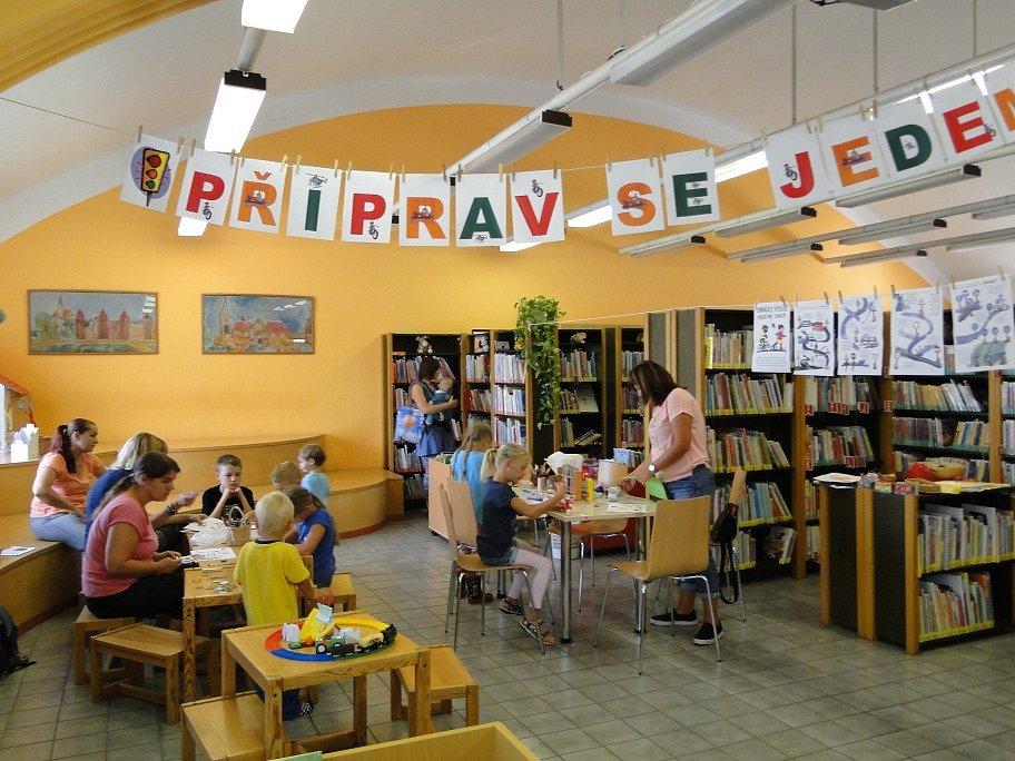 Připrav se - jedem! Prázdninová soutěž v knihovně