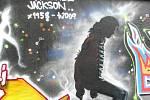 Zpěvák Jackson se objevil v Poděbradech