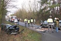 Hrůzostrašně vypadající nehoda se stala v pondělí ráno v Babíně