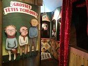 Výstava divadelních, loutkových a výtvarných mistrů.
