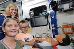Na závěr tematických prázdnin si děti prohlédly i práci záchranky.