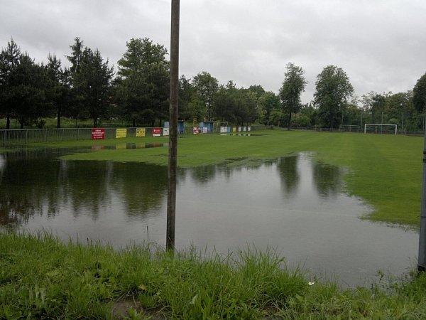 Fotbalové hřiště vPoříčanech