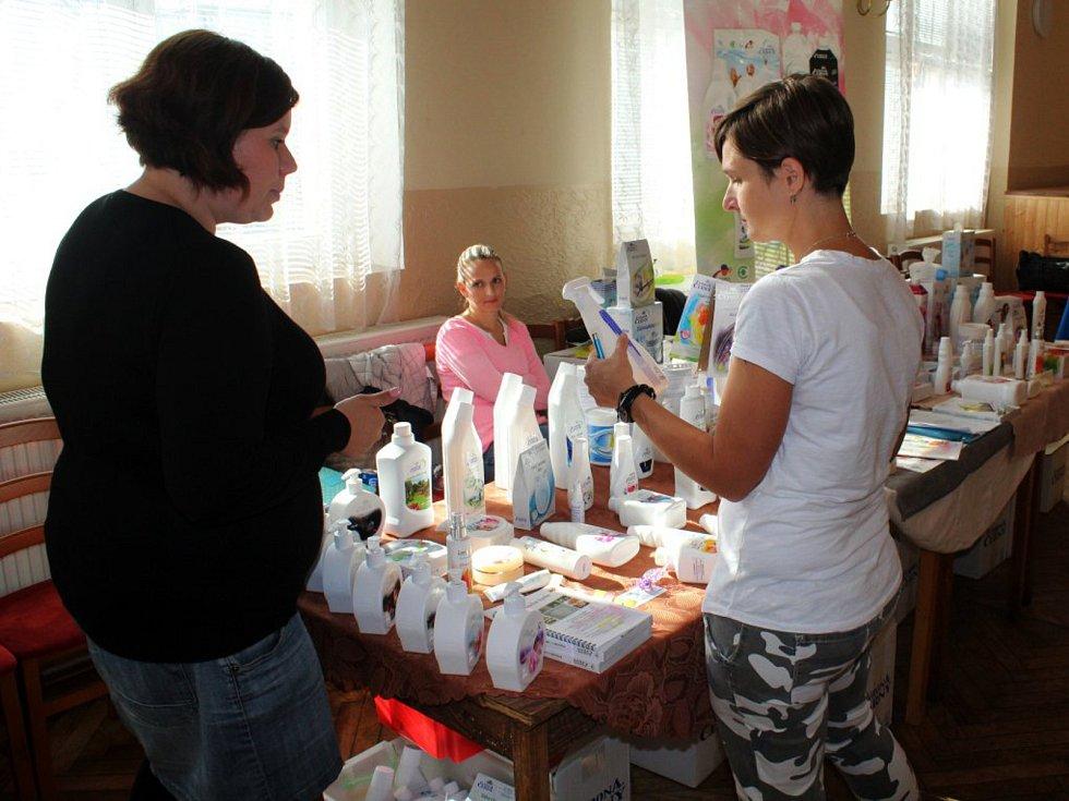 Akce, na které si přišly na své především maminky, se konala v kulturním domě v Městci Králové.