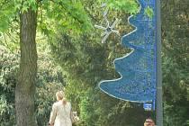 V lázeňském parku to vypadá jako těsně před Vánocemi