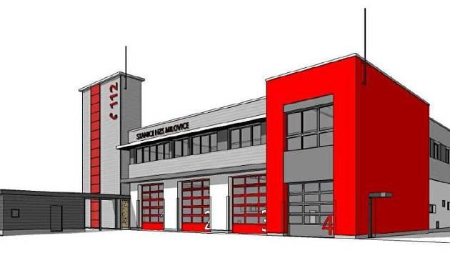 Středočeští hasiči se dočkali zbrusu nové stanice. V Milovicích