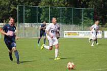 Z přípravného fotbalového utkání Bohemia Poděbrady - Čáslav B (6:0)