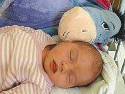 ANEŽKA TREJBALOVÁ se narodila 5. dubna 2018 v 18.52 hodin s délkou 50 cm a váhou 3 400 g. Na prvorozenou holčičku se dopředu těšili rodiče Kristýna a Michal z Nymburka.