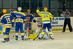 Z utkání druhé hokejové ligy Nymburk - Břeclav (4:1)