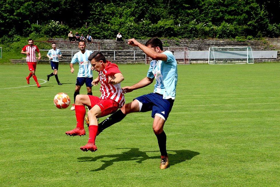 Z fotbalového utkání krajského přeboru Kutná Hora - Poříčany (2:3)