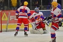 DERBY. Ostře sledovaný duel vyhráli hokejisté Kolína. Nymburk porazili o dva góly