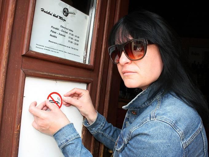 Kuřáckou zahrádku připravují i v Hudebním klubu Mlejn v Nymburce.