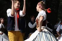 Folklórní festival Polabská vonička v Nymburce pod hradbami