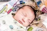 Theodor Zahrádka, Praha. Narodil se 8. září 2020 v 12.55 hodin s váhou 3 950 g a mírou 50 cm. Prvorozeného chlapce očekávala maminka Edita a tatínek Tomáš.