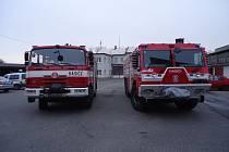 Nové vozy hasičů