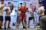 Nymburský silový trojbojař Karel Ruso bral na světovém šampionátu Masters v mongolském Ulanbataru zlatou medaili ze celkový trojboj.
