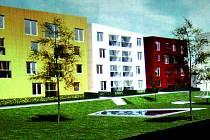 Tak by měl vypadat prostor bývalé Fruty v Lysé nad Labem po dokončení stavby.