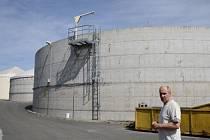 Starosta Kněžic Milan Kazda a Bioplynová stanice dnes