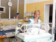 Na porodnickém oddělení nymburské nemocnice
