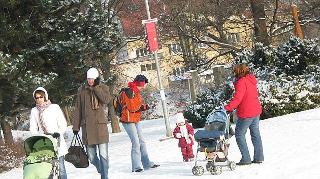Zima konečně dorazila na Nymbursko.